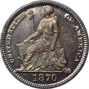 1870 J-809 H10C PF obverse