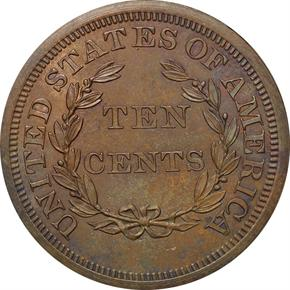 1868 J-648 10C PF reverse