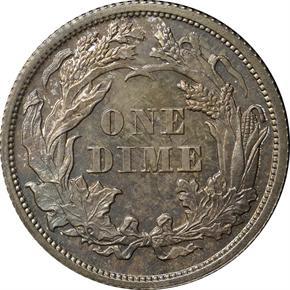 1870 J-831 10C PF reverse