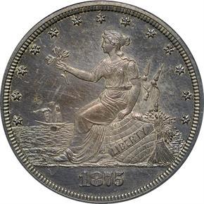 1875 J-1396 20C PF obverse