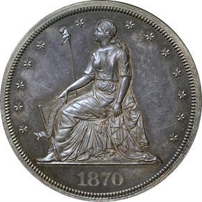1870 J-1003 S$1 PF obverse
