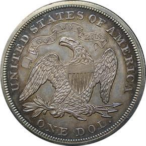 1870 J-1003 S$1 PF reverse