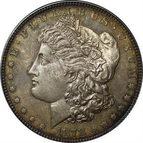 1878 J-1550 S$1 PF obverse