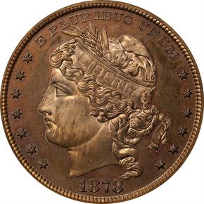 1878 J-1559 S$1 PF obverse