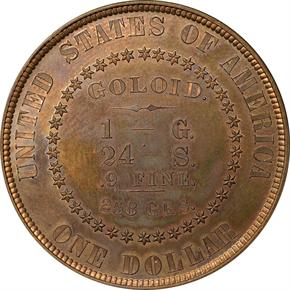 1878 J-1559 S$1 PF reverse