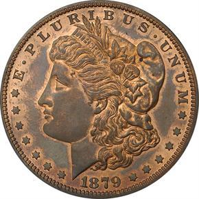 1879 J-1612 S$1 PF obverse