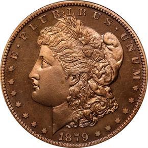 1879 J-1614 S$1 PF obverse