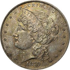 1879 J-1618 S$1 PF obverse