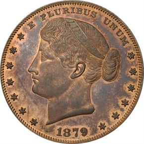 1879 J-1623 S$1 PF obverse