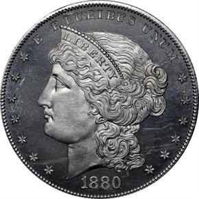 1880 J-1647 S$1 PF obverse
