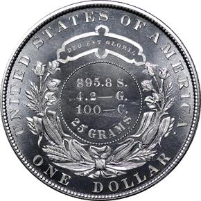 1880 J-1647 S$1 PF reverse