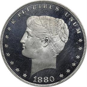 1880 J-1656 S$1 PF obverse