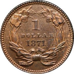 1871 J-1161 G$1 PF reverse