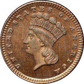 1876 J-1478 G$1 PF obverse