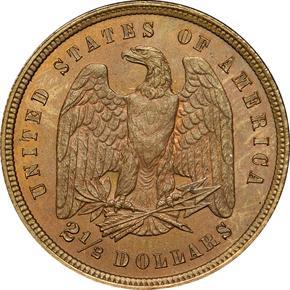 1878 J-1567 $2.5 PF reverse