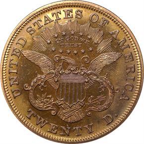 1870 J-1038 $20 PF reverse