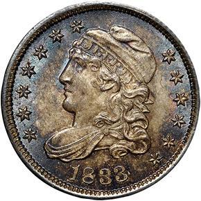 1833 H10C MS obverse
