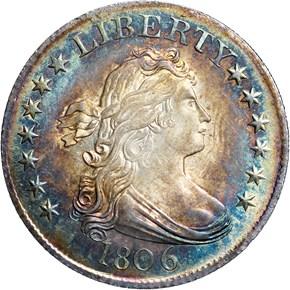 1806 25C MS obverse