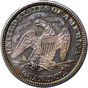 1872 25C PF reverse