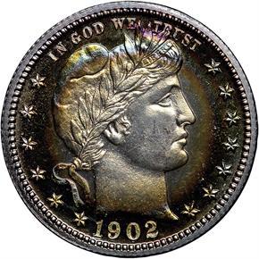 1902 25C PF obverse
