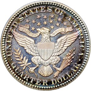 1908 25C PF reverse