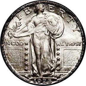 1926 25C MS obverse