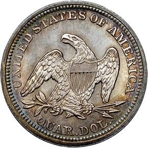 1852 25C MS reverse