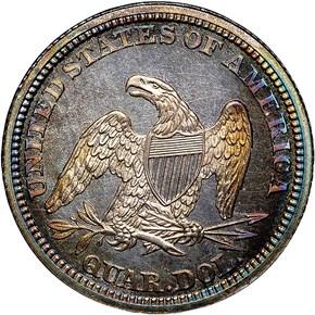 1863 25C PF reverse