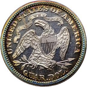 1869 25C PF reverse