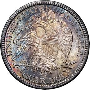 1877 CC 25C MS reverse