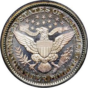 1896 25C PF reverse