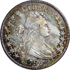 1796 50C MS obverse