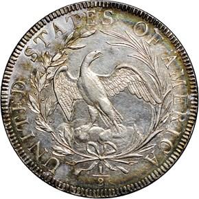 1796 16 STARS 50C MS reverse