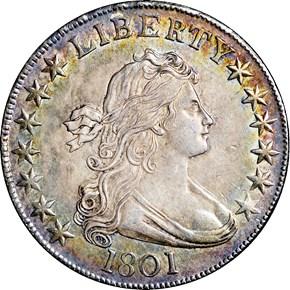 1801 50C MS obverse