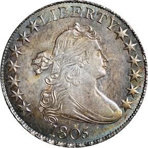 1805 50C MS obverse