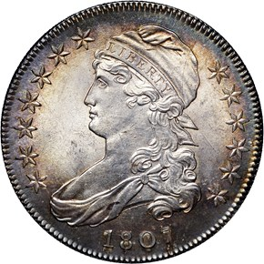 1807 CAPPED 50C MS obverse