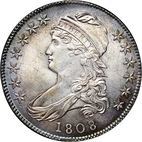 1808/7 O-101 50C MS obverse