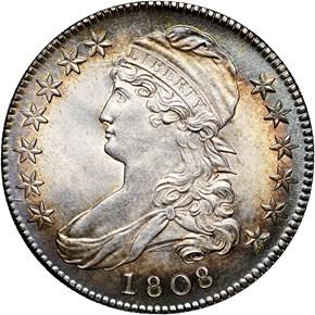 1808 50C MS obverse