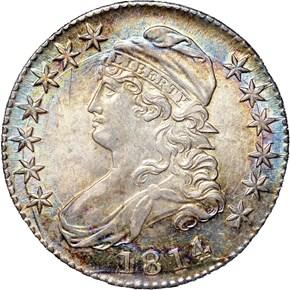 1814/3 50C MS obverse