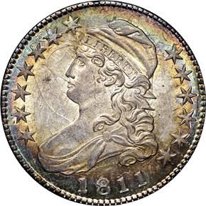 1811 50C MS obverse