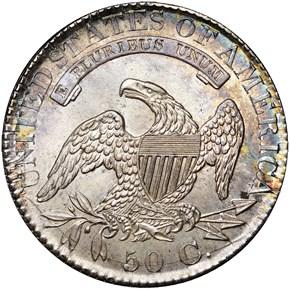 1827/6 50C MS reverse