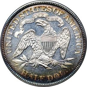 1871 50C PF reverse