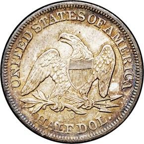 1850 O 50C MS reverse