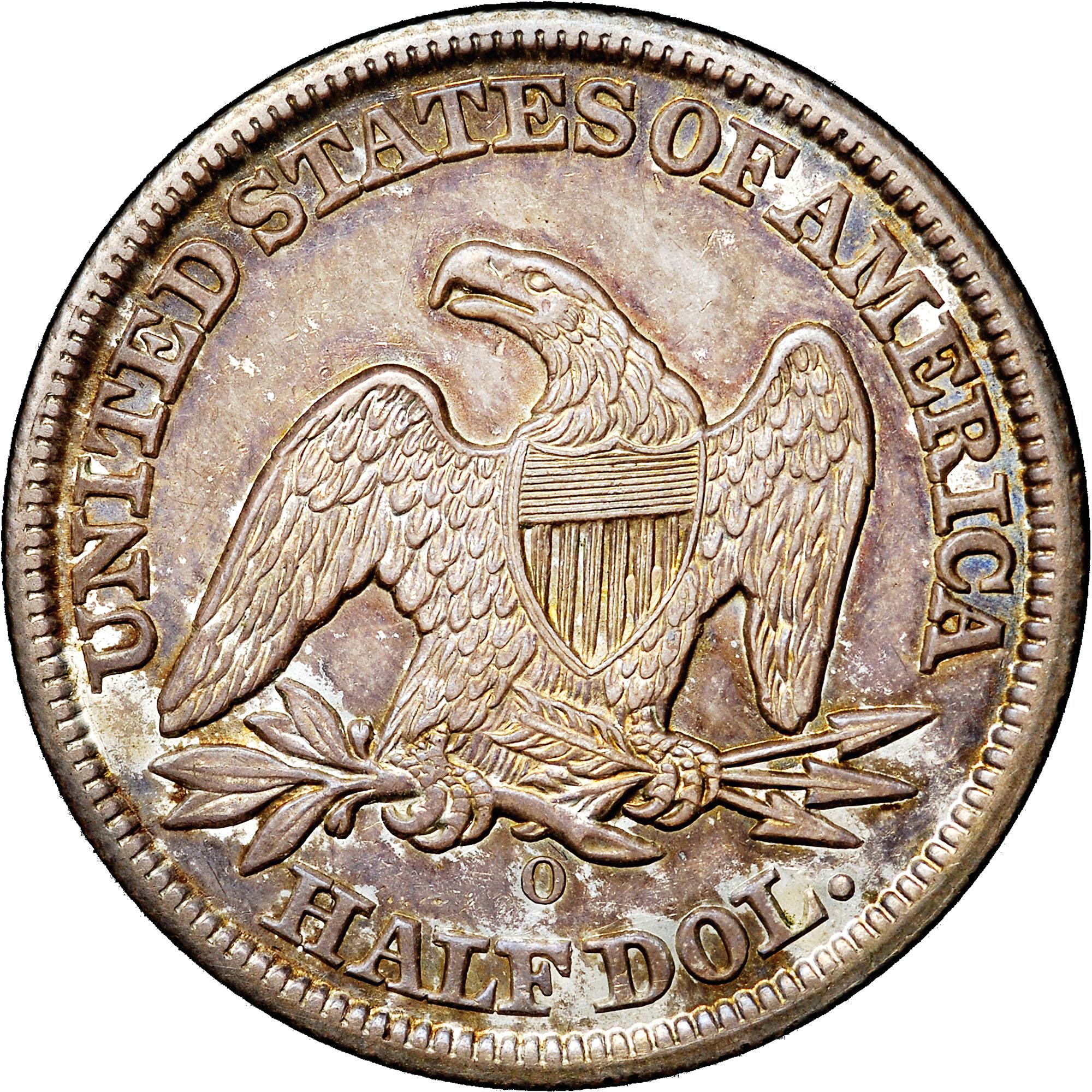 1855 half dollar coin value