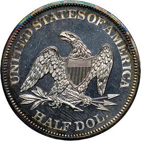 1865 50C PF reverse