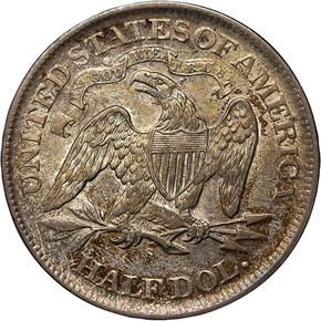 1867 S 50C MS reverse