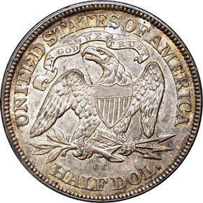 1877 CC 50C MS reverse
