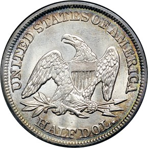 1845 50C MS reverse