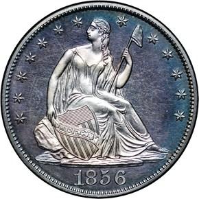 1856 50C PF obverse