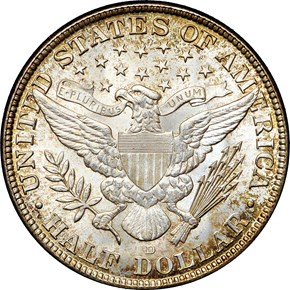 1915 D 50C MS reverse